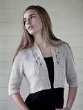 Chic Knits Abria Lace Cardigan