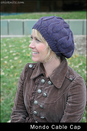 Free Knitting Pattern 60618AD Cable Luxe Tunic : Lion