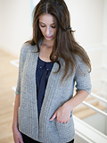Chic Knits Uma Textured Swing Cardigan