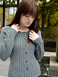 Chic Knits Velynda Cabled Cardigan
