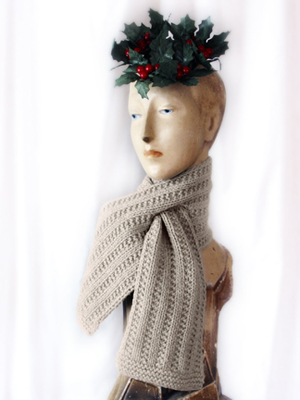 Free Knitting Patterns By Bonne Marie Burns Free Keyhole Scarf
