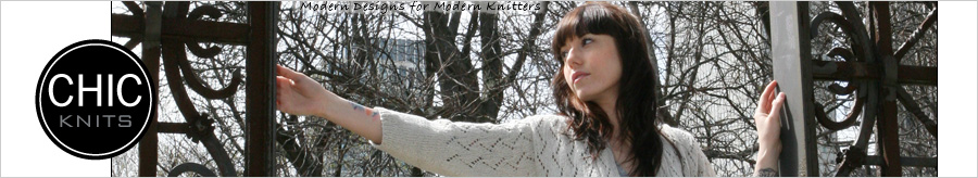 Chic Knits Knitting Patterns Nav Gfx