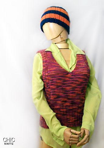 knitted vest pattern