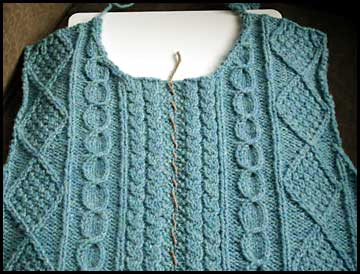 Knitting Tips How To Sew A Zipper Into A Hand Knit Sweater Chic